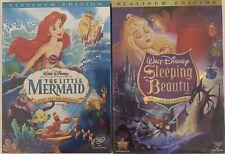 Disneys: Little Mermaid & Sleeping Beauty DVD (Brand...