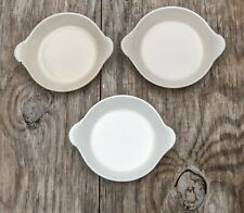 3 Vintage Le Creuset Cast Iron No. 3 Au Gratin Baking Dishes Made In France