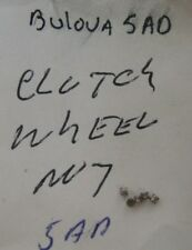 BULOVA 5 pcs. CLUTCH WHEEL 5AD