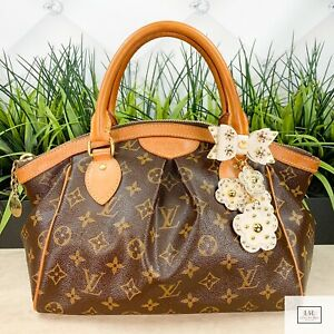 Authenticated Louis Vuitton Hand Bag Tivoli PM Browns Monogram