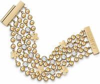 Guess UBB78137  Armband IP Gold Kristall neu