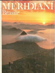Rivista Meridiani n. 7 - Gennaio 1990 Speciale Brasile ed. Domus