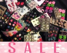 Wholesale Jewelry Lot - New Stud Earrings 100 pairs FREE SHIPPING ❤️ US Seller❤️