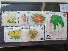 Ascension 1982 Flowers 6v with 1982 Imprint Date, MNH