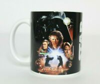 Vintage Star Wars Episode III: Revenge of the Sith Coffee Mug Darth Vader Leia