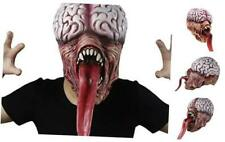 Demi Sharky Halloween Custume Vampire Mask Licker Mask Resident Evil Horror Long