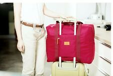 Foldable Travel Cabin Luggage Bag [Red]