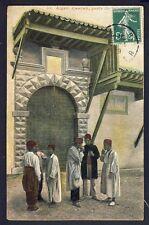 cpa de 1909 ALGER CASBAH, Porte du PALAIS du BEY ALGÉRIE Al Djazaïr