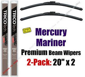 Wipers 2-Pack Premium Wiper Beam Blades - fit 2008-2011 Mercury Mariner 19200x2