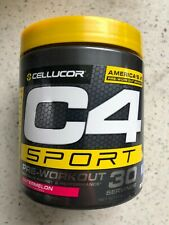 C4 Sport Pre Workout Creatine Monohydrate Powder, 30 Servings, Various Flavors