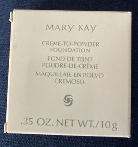 Mary Kay Creme-to-Powder Foundation. Ivory 2 NEW IN BOX!