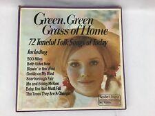 Green, Green Grass of Home 72 Tuneful Folk Songs 6 Album Collectible Set 1972
