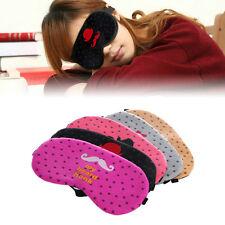 New Cute Eye Sleep Mask Sleeping Rest Travel Soft Cover Shade Blinder Blindfold