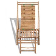 Sdraio lettino prendi sole sedia a sdraio in legno di bambù pieghevole