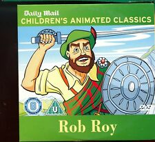 Childrens Animated Classics -  Rob Roy / Daily  Mail Promo DVD - 1st Class Post