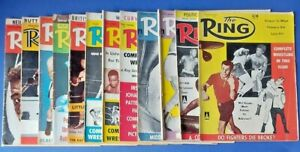 12x The Ring Magazines, 1960.