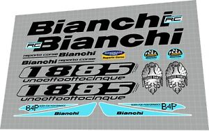 2007 Bianchi 1885 DECAL SET