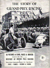 Story Of Grand Prix Racing Cars late 1940s Races Drivers History of GP Racing +