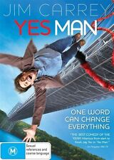 YES MAN DVD=JIM CARREY=REGION 4 AUSTRALIAN RELEASE=NEW AND SEALED