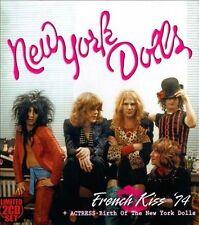 NEW YORK DOLLS  Limited 2 Cd Box Set French Kiss 74 + Actress Birth of the Dolls