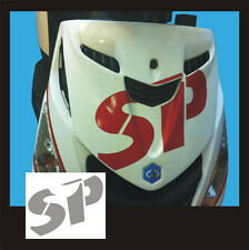 Adesivo Piaggio Zip logo SP Argento  - adesivi/adhesives/stickers/decal
