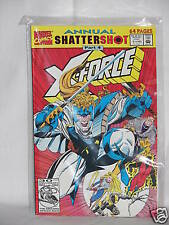 "1992 Marvel Comic X-Force ""Annual Shattershot"" Part 4"