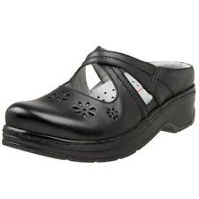 Klogs Carolina Women's Clogs Black Smooth - 9 Medium