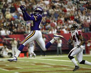 RANDY MOSS 8X10 PHOTO MINNESOTA VIKINGS FOOTBALL PICTURE NFL VS FALCONS