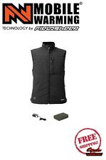 MOBILE WARMING by FIELDSHEER VINSON BLUETOOTH HEATED MEN'S VEST BATTERY OPERATED