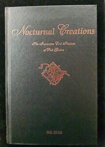 Magic Book - Nocturnal Creations by Paul Gordon Impromptu Card Illusions RARE