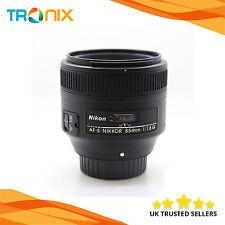 Nikon AF-S NIKKOR 85mm f/1.8G Lens in Black + 3 Years Warranty