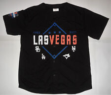 NEW LAS VEGAS 51s 35 SEASONS ALIEN NEW YORK METS Black Minor League JERSEY XL