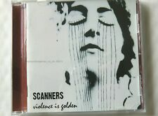 66212 Scanners Violence Is Golden [NEW] CD (2008)