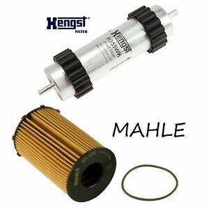 Tune Up Kit Engine Oil & Fuel Filters for Audi A7 Quattro Diesel 2013-2014