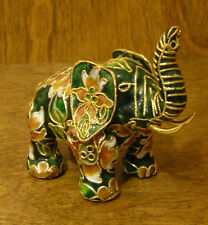 Victorian Treasures #VT200-1 ELEPHANT w/ Green/beige, NEW from Retail Shop