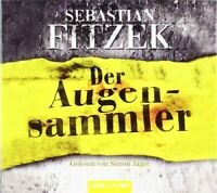 SEBASTIAN FITZEK - DER AUGENSAMMLER 4 CD NEW