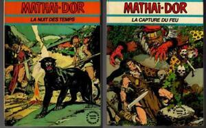 2 French Graphic Novels MATHAI DOR