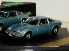 OPEL GT 1900 1969 LIGHT METALLIC BLUE VITESSE V98098 1:43