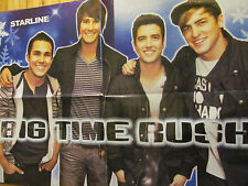 Big Time Rush, Kendall Schmidt, Double Four Page Foldout Poster