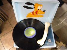GE Disney Pluto Mini record player/ Works!