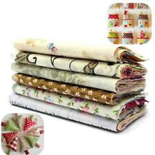 60PCS 10x10cm Square Fabric Patchwork DIY Handmade Craft Cotton Quilt Bundle