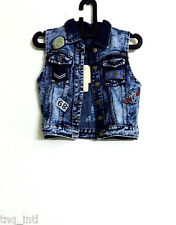 Women jacket/ Jeans Jacket/Sleeveless jacket/Patch work Denim Jackets/jackets