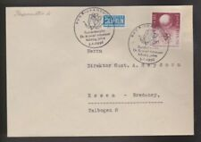 Briefmarken aus der BRD (1955-1959) mit Sonderstempel