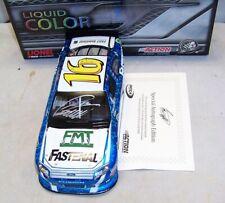 1:24 ACTION 2012 #16 FASTENAL NASCAR UNITES LIQUID COLOR GREG BIFFLE AUTOGRAPHED