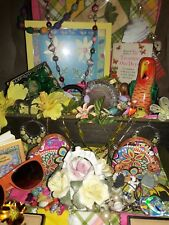 An OLD VINTAGE JEWELRY AND GOODIE, JUNK DRAWER LOT., Antique,oddities  and more!