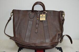 Ralph Lauren RRL Distressed Leather Tote Bag With Shoulder Strap