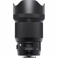 SIGMA 85MM F1.4 una serie ART DG HSM LENS in NIKON Fit (UK Stock) nuovo con scatola