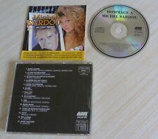 CD ALBUM HOMMAGE A MICHEL SARDOU PAR TONY BRAM'S 14 TITRES MADE IN NETHERLANDS