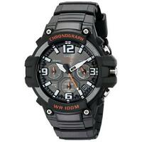Casio Men's Heavy Duty Design Stainless Steel Resin Band Black Watch MCW100H-1AV