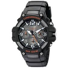 Casio Men's Heavy Duty Design Stainless Steel Resin Band Black Watch MCW100H-1AV